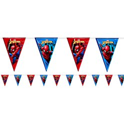 Spiderman Team Up Bunting