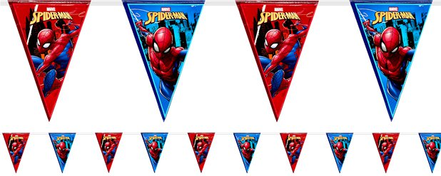 Spiderman Team Up Bunting - 2.3m