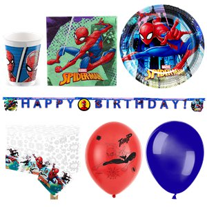 Spiderman Deluxe Party Pack