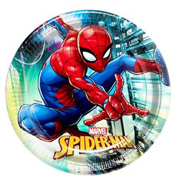 Spiderman Team Up Party Plate - 23cm