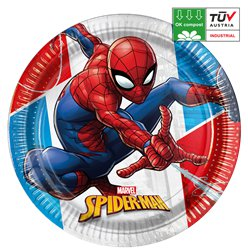 Spider-Man Compostable Plates - 23cm