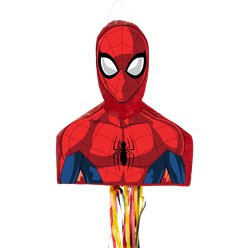 Spiderman Head Pull Pinata
