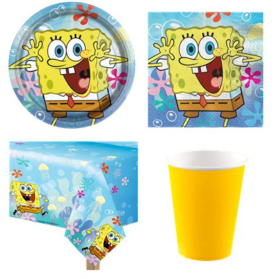 Spongebob Value Party Pack