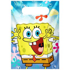 Spongebob Plastic Party Bags