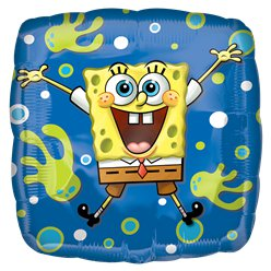 "SpongeBob Squarepants Square Balloon - 18"" Foil"