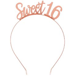 Blush Sixteen Metal Headband