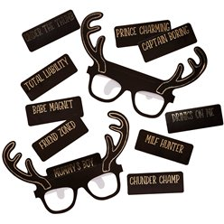 Stag Party Glasses