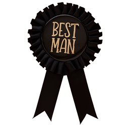 Stag Party Best Man Badge