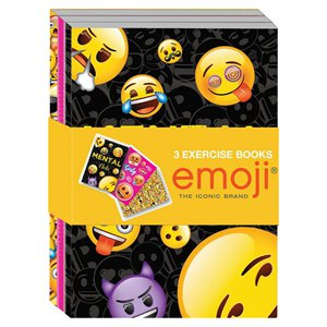 Emoji Exercise Books