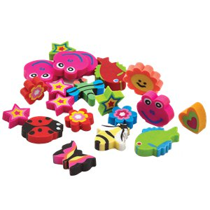 Mini Novelty Erasers