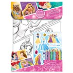 Princess Foil Colouring Set