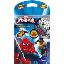 Ultimate Spiderman Chunky Crayons