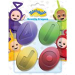 Teletubbies Novelty Crayons