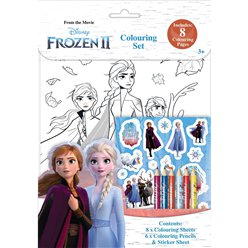 Frozen 2 Colouring Set