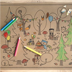 Woodland Colouring Pages
