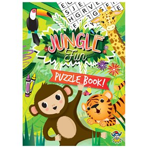 Mini Jungle Puzzle Book