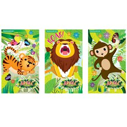 Mini Jungle Note Book