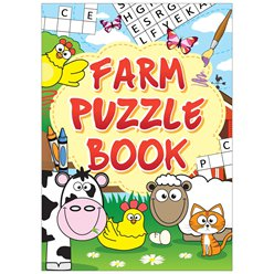 Mini Farm Puzzle Book