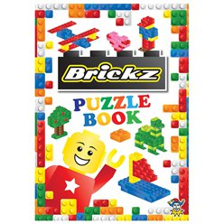 Brickz Mini Puzzle Book