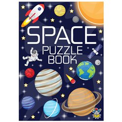 Space Mini Puzzle Book