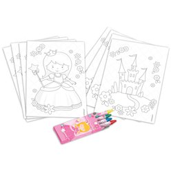 My Princess Colouring Kit - 20 Pieces
