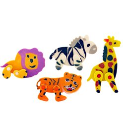 Jungle Eraser Set