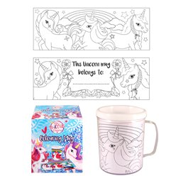 Unicorn Colouring Mug