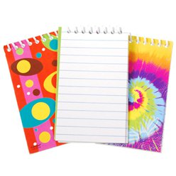 Colourful Mini Notebooks