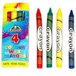 Colour Wax Crayons