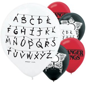 Stranger Things Balloons - 12