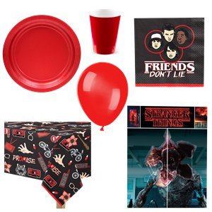 Stranger Things Party Pack - Deluxe Pack