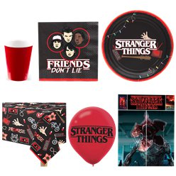 Stranger Things Party Pack -Value Pack