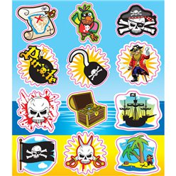 Pirates Stickers