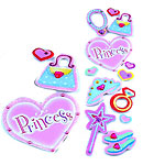 Princess Gemstone Stickers