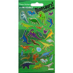 Prismatic Dinosaur Stickers