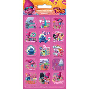 Trolls Fun Foiled Stickers