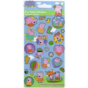 Peppa Pig Fun Foiled Stickers