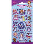 Sofia the First Foiled Stickers