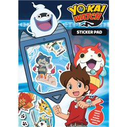 Yo Kai Watch Sticker Pad
