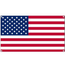 USA American Cloth Flag - 1.5m 4th July Decoration