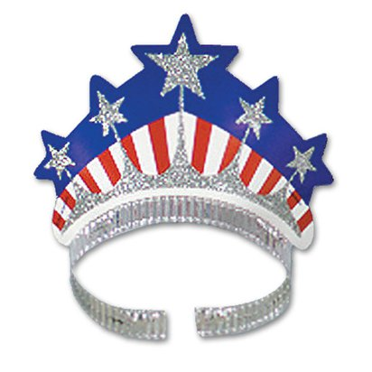 Miss Liberty Tiara - 4th July Party Accessories front