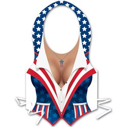 USA American Patriotic Vest for Her - 4th July