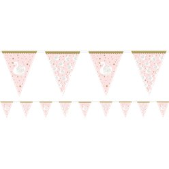 Lovely Swan Flag Bunting - 3.7m
