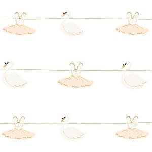 Lovely Swan Garland - 1.26m