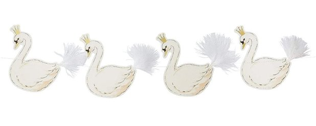 Lovely Swan Garland - 3m