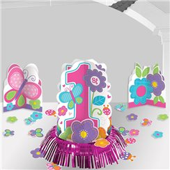 Sweet Girl 1st Birthday Table Decorating Kit