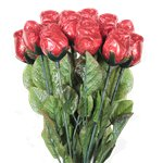 Milk Chocolate Rose Red Pack - 20g