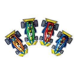 F1 Racing Car Chocolate
