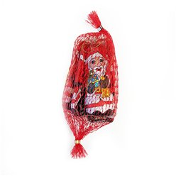 Net of Milk Chocolate Santa Tree Decorations - 50g