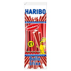 Haribo Balla Stixx - Strawberry Flavour